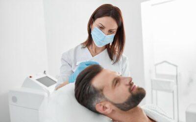 Clinic เสริมความงามกับปัญหาบนใบหน้าของผู้ชาย